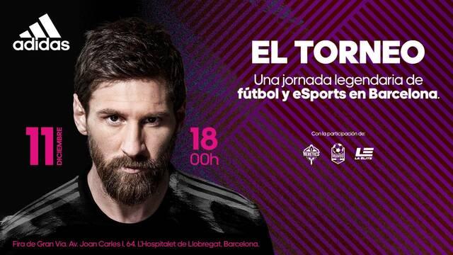 Messi participará en un torneo de esports y fútbol organizado por Adidas