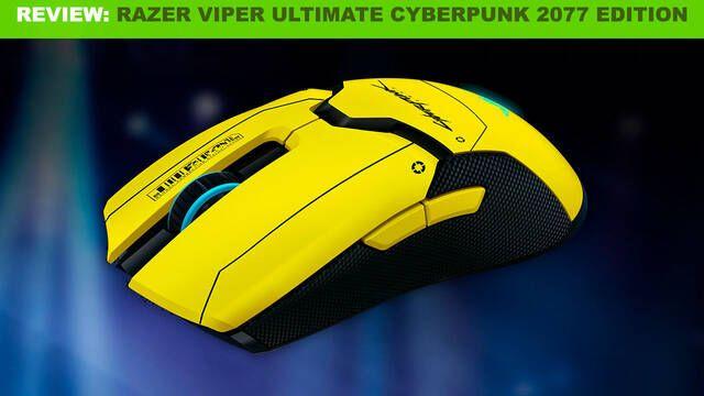 Análisis Razer Viper Ultimate Cyberpunk 2077 Edition: Un ratón con precisión del futuro