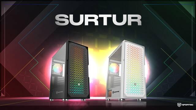 Nfortec presenta su nueva torre para PC de jugadores: Surtur