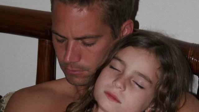 La hija de Paul Walker recuerda a su padre con una emotiva imagen
