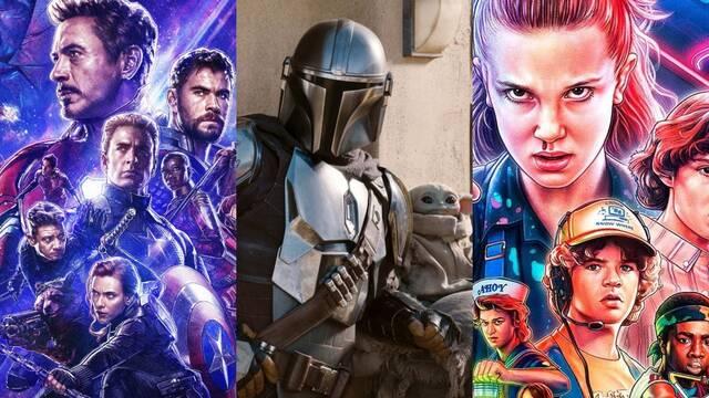 The Mandalorian, Avengers y Stranger Things son las sagas y licencias más valoradas