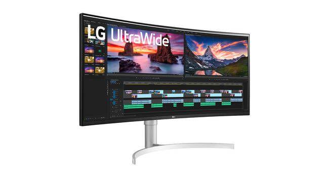 """LG presenta su monitor curvo para jugar 38WN95C-W con 38"""", QHD+ y 170 Hz"""