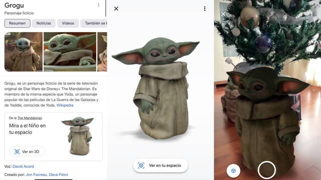 Baby Yoda llega a tu casa con la realidad aumentada de Google: ¿Cómo activarlo?
