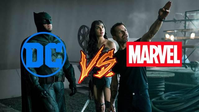 Zack Snyder: 'El Universo DC de Warner jamás quiso parecerse al de Marvel'