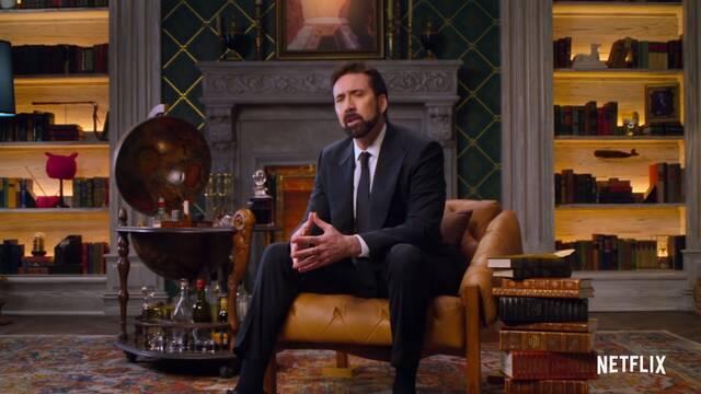Nicolas Cage es un malhablado en el tráiler de La historia de las palabrotas