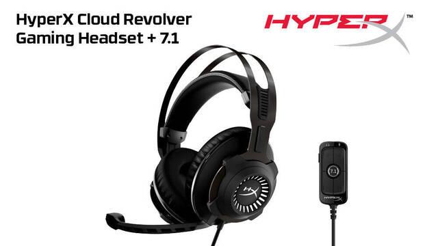 HyperX lanza los auriculares Cloud Revolver Gaming Headset + 7.1