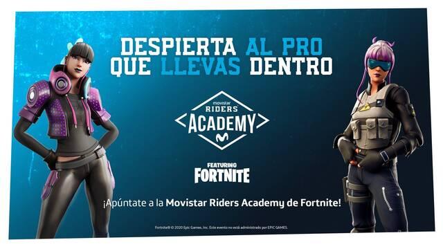Movistar Riders abre sus puertas a su academia de Fortnite