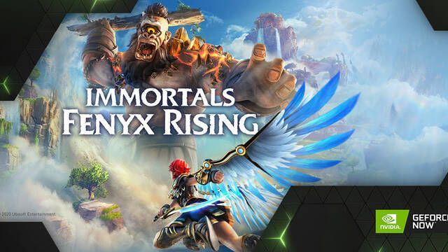NVIDIA GeForce Now estrena Immortals Fenyx Rising en su plataforma