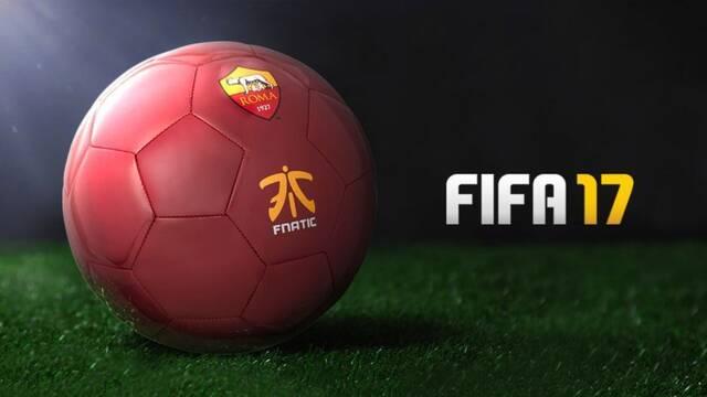 El club de fútbol AS Roma se asocia con Fnatic para entrar en los eSports