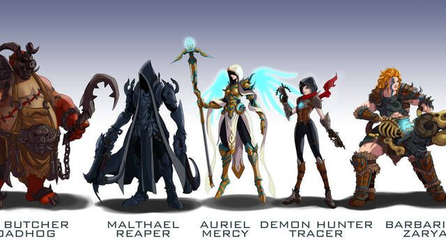 Un fan de Overwatch crea skins para el juego basadas en Starcraft II, Diablo y World of Warcraft