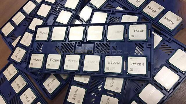Se filtran las primeras imágenes de los procesadores Ryzen de AMD