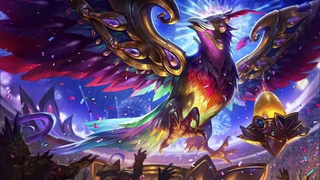 Así es el parche 7.4 de LOL: Cambios en Cho'Gath, primera sangre de torreta y Anivia reina del festival