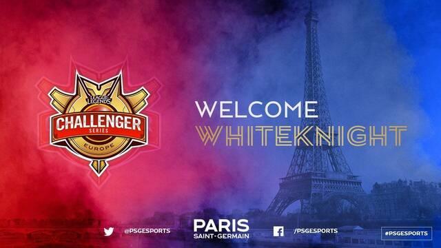El PSG eSports ficha a WhiteKnight para reforzar su línea de top