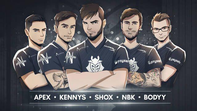 G2 presenta su súper equipo francés de CS:GO incorporando a tres jugadores de EnVyUs