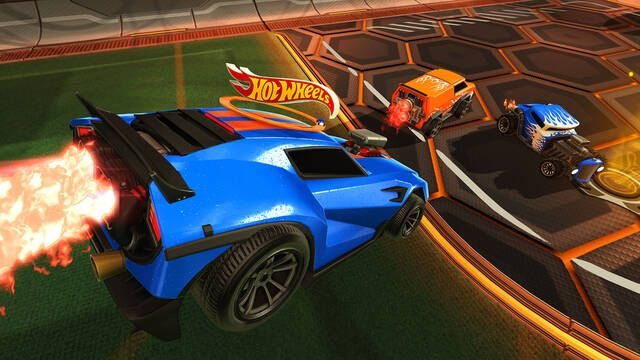 Los Hot Wheels llegan a Rocket League