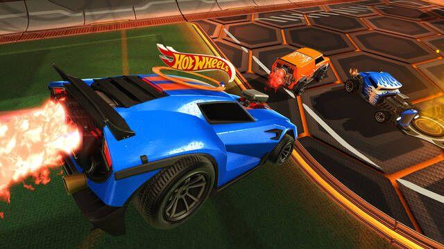 Los Hot Wheels llegan a Rocket League