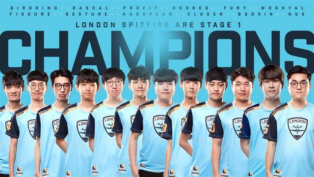 London Spitfire se alza con el Stage 1 de la Overwatch League