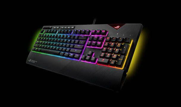 ASUS prepara su nuevo teclado mecánico gamer: Strix Flare RGB