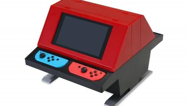 Lanzan a la venta un mueble que convierte la Nintendo Switch en una recreativa