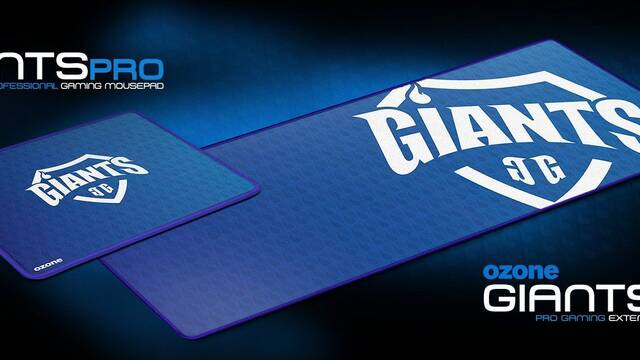 Ozone lanza Giants Pro y Giants EVO, las alfombrilla oficiales de Giants Gaming