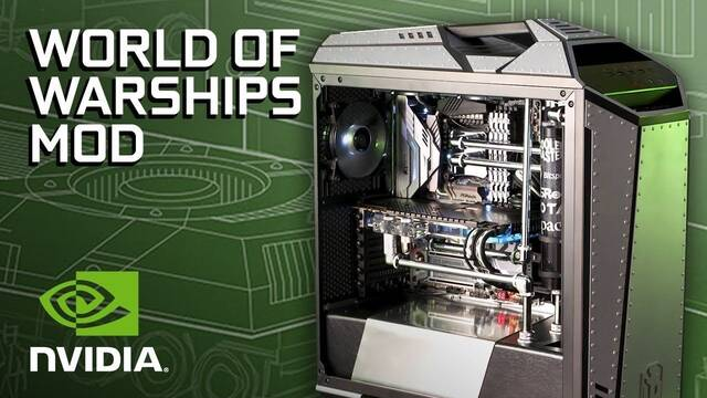 Ronnie Hara crea un espectacular PC Gamer que homenajea a World of Warships