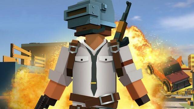 Pixel's Unknown Battleground, la extraña copia rusa que mezcla PUBG y Minecraft