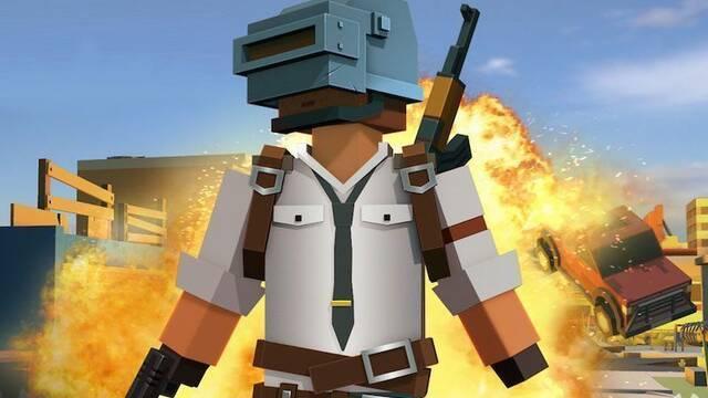 Pixel's Unknown Battleground, la extraña copia rusa que mezcla PUBG y Minecraft