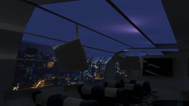 Lo último en realidad virtual: Montar en aviones falsos para hacer turismo virtual