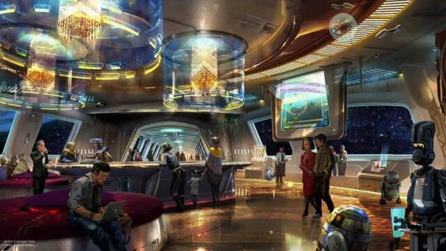 Así será el hotel inspirado en 'Star Wars' de Walt Disney World Resort