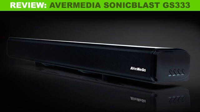 Análisis AverMedia SonicBlast GS333: Conectividad, tamaño ajustado y buena calidad de sonido