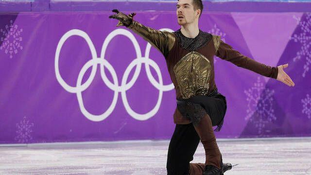JJOO 2018: Jaime Lannister de 'Juego de Tronos' se cuela en la pista de patinaje artístico