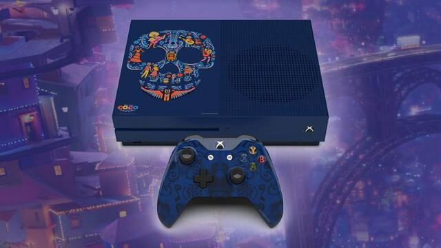 Xbox One S tendrá una edición limitada inspirada en Coco, la película de Disney de moda