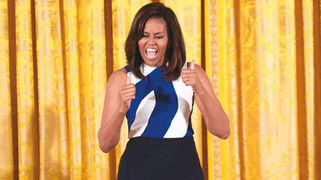 Michelle Obama felicita a Marvel por 'Black Panther'