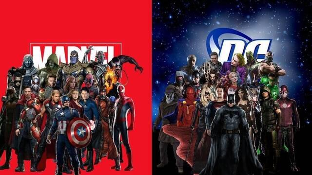 La guerra entre DC y Marvel se traslada a Twitter
