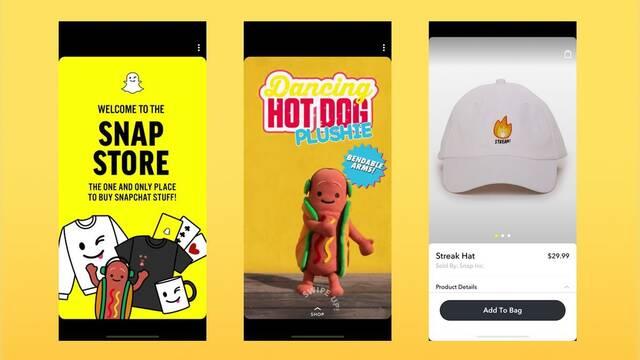 Snapchat comienza a vender productos desde su app