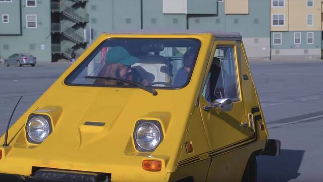 Convierten un coche eléctrico de los 70 en un ratón para PC