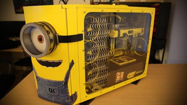 El ordenador con forma de Minion existe y es obra de un español