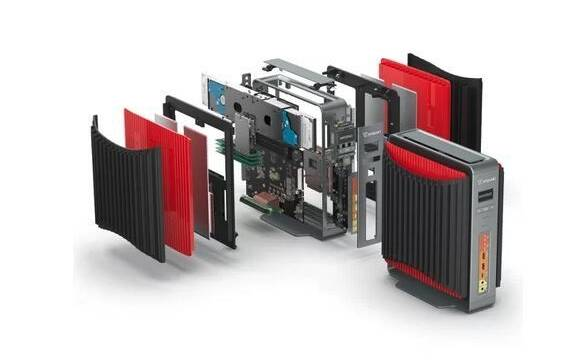 Descubre el Airtop 2 Inferno, el miniPC con una GTX 1080 y sin ventiladores