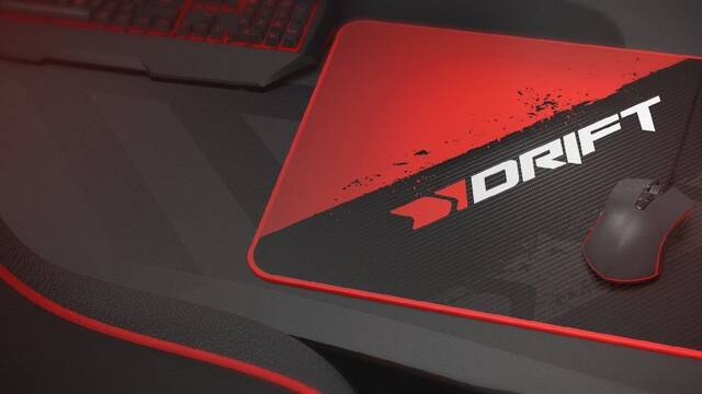 Drift lanza su primer periférico: una alfombrilla para gamers