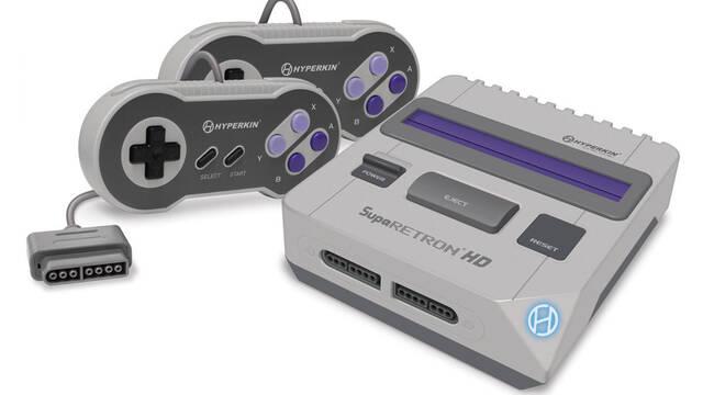 Supa Retron HD, la enésima consola retro para jugar juegos de SNES en HD