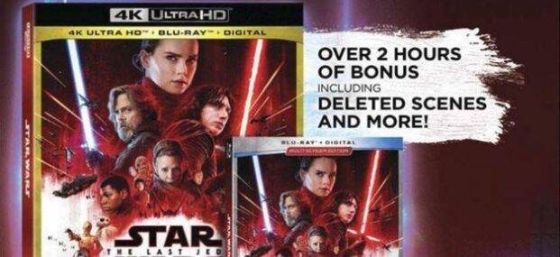 Detallada la edición Blu-ray coleccionista de 'Star Wars: Los Últimos Jedi'