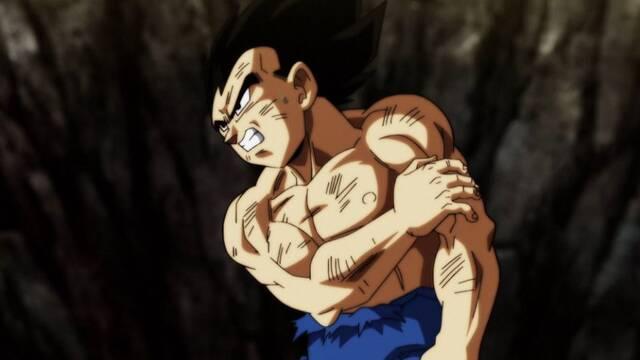 Los fans no superan al Vegeta sin camiseta del último episodio de 'Dragon Ball Super'