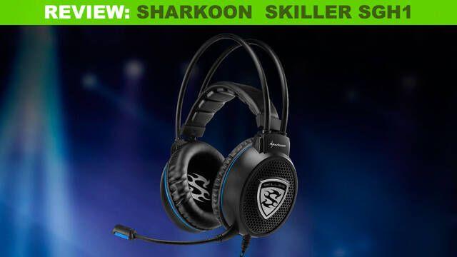 Análisis Sharkoon Skiller SGH1: Unos cascos ligeros, baratos y con buen sonido