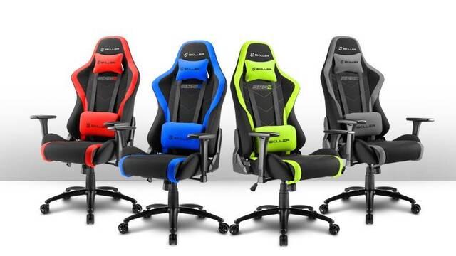 Sharkoon presenta su silla para gamers con cubierta de tela transpirable