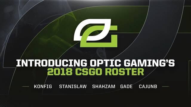 OpTic presenta su nuevo equipo de CS:GO con daneses y americanos