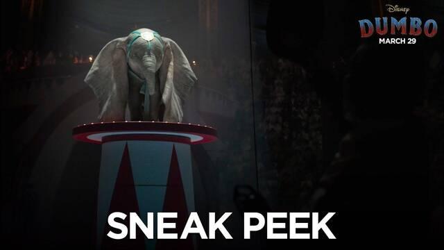 'Dumbo' se deja ver en un nuevo y espectacular tráiler