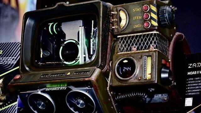 El PC Modding de los viernes: el ordenador Pip-Boy 2000 N-Z de Fallout