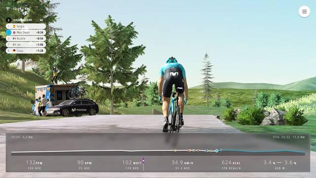 Movistar Virtual Cycling, el torneo de esports de ciclismo virtual