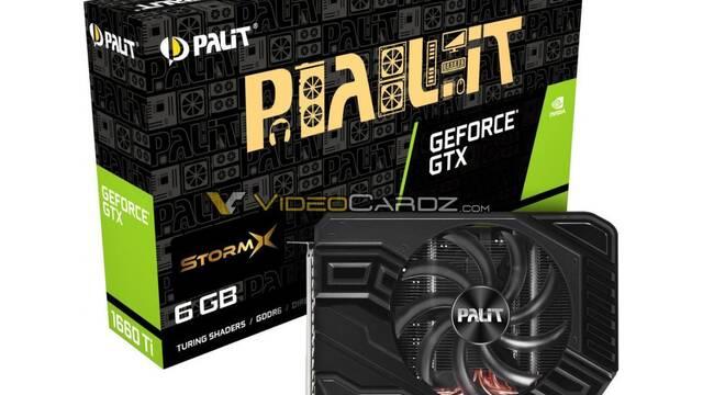 Primeras imágenes de las NVIDIA GTX 1660 Ti de EVGA y PALIT