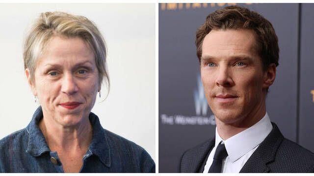 Frances McDormand y Benedict Cumberbatch serán Dios y Satán en Good Omens